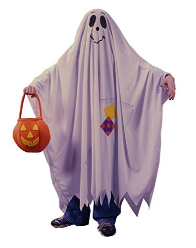 Boys Friendly Ghost Kids Child Fancy Dress Party Halloween Costume