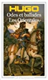 echange, troc Victor Hugo - Odes et ballades - Les Orientales