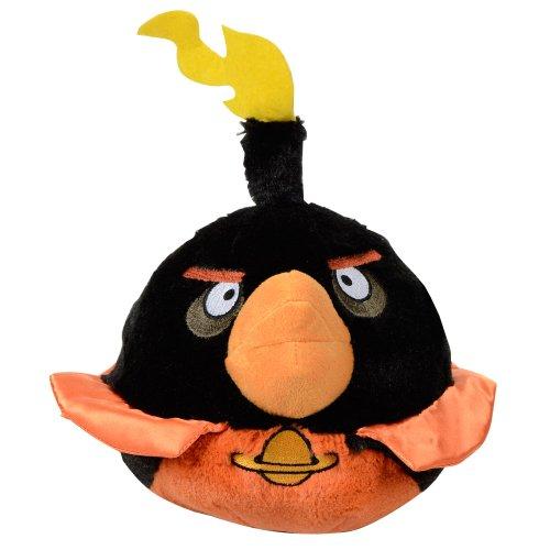 """Angry Birds """"Space"""" schwarzer Vogel 20cm Plüschfigur"""