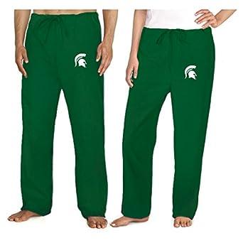 Michigan State University Scrubs Bottoms Pants-Size SM- MSU Spartans Logo Men L