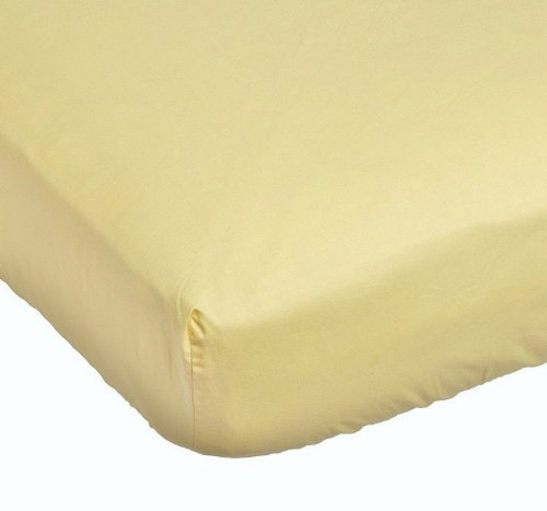 Sumersault Crib Fitted Sheet Ecru
