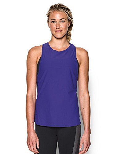 Under Armour Women's CoolSwitch Run Tank, Deep Orchid (899), X-Small