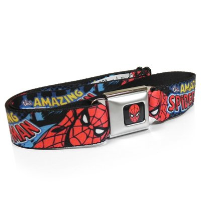 Amazing Spiderman Auto Seatbelt Buckle Strap Belt for Kids