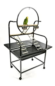 Pollys Pleasures Big O Parrot Stand