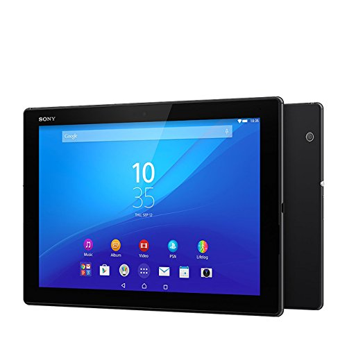 Sony Xperia Z4 Tablet SGP771 32GB 10.1-Inch LTE Factory Unlocked Tablet (Black) – International Stock