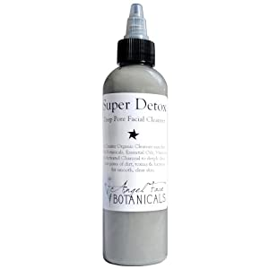 Super Detox - Organic Deep Pore Facial Cleanser with Activated Charcoal 4.85 oz by Angel Face Botanicals