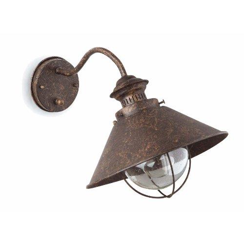 faro-71110-nautica-lampada-da-parete-marrone-ossido-260diam