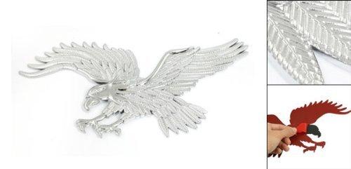 Tone Silver Eagle plastique Motif Auto voiture badge autocollant emblème Décor