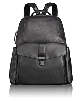 Tumi 途米男士高端笔架真皮双肩背包Luggage Beacon Hill Brimmer 黑$282.32