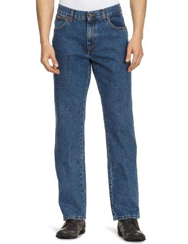 Wrangler - Jeans, Uomo, Blu (Stonewash), (36W/30L)