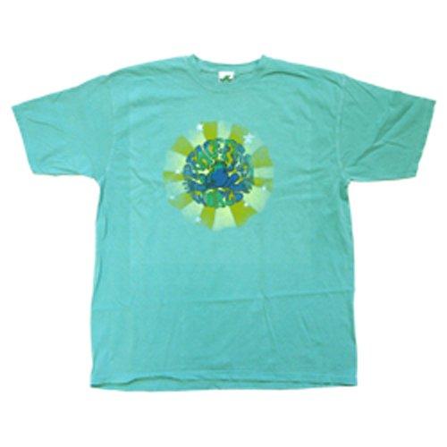 Peace Frogs Adult Pf World Garment Dye Short Sleeve T-Shirt front-997532
