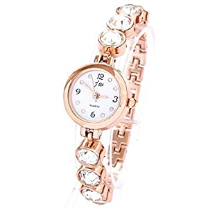 Amazon.com: Orders Forever Relojes 2015 New Fashion Rose Gold Plated