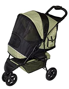 Pet Gear Special Edition Pet Stroller for cats and dogs up to 45-pounds, Sage