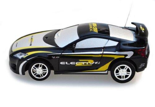 My Funky Planet Toyatar - 1:67 - RC Mini Racing Car, Black/Yellow