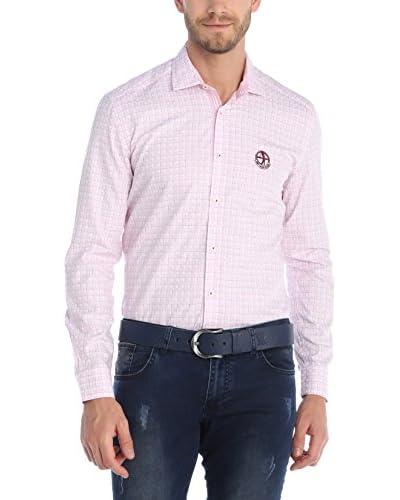 SIR RAYMOND TAILOR Camicia Uomo [Rosa/Bianco]