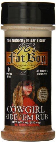 Jb'S Fat Boy Cowgirl Ride'Em Rub, 4 Ounce