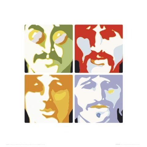 Classic Rock Beatles Music Poster