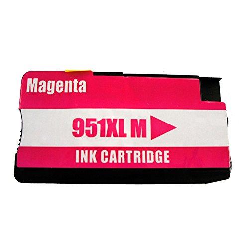 1 Druckerpatrone Tinte für HP Offiecejet Pro 8600 ersetzt HP 951XL CN047AE mit 27ml