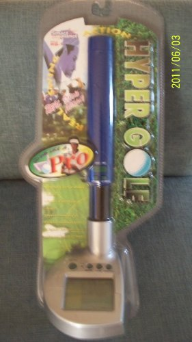 HYPER GOLF Electronic Golf Game (Smart Planet) Model # HG-1 - 1