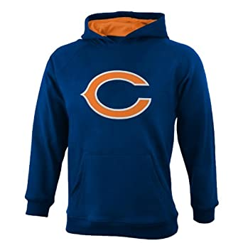 NFL Chicago Bears 8-20 Youth Sportsman Pullover Fleece Hoodie, Blue, Large