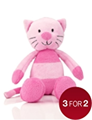 Mini Cara Cat Soft Toy