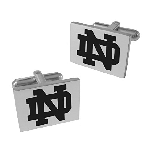 Notre Dame Fighting Irish Stainless Steel Cufflinks