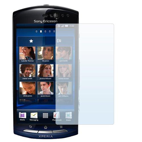 PrimaCase - x3 Stück - Displayschutzfolie für Sony Ericsson Xperia Neo / Neo V