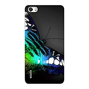 Ajay Enterprises Butterflie Power Multicolor Back Case Cover for Honor 6