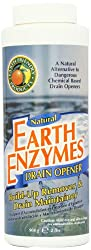 Earth Friendly Products Earth Enzymes, Drain Opener,  32-Ounces  (Pack of 3)