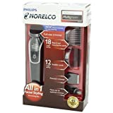 NEW Norelco Beard Trimmer Shaver Facial Styling Grooming Kit Water Resistant