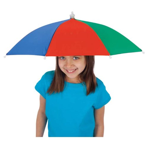 "Toysmith Amazing Umbrella Hat, 12"" Length - 1"