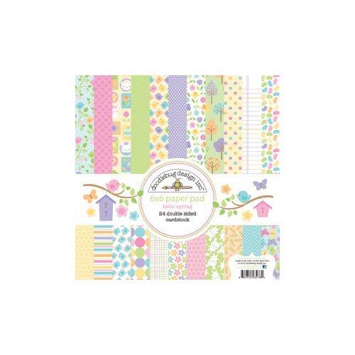 Hello Spring 6X6 Paper Pad (Doodlebug)