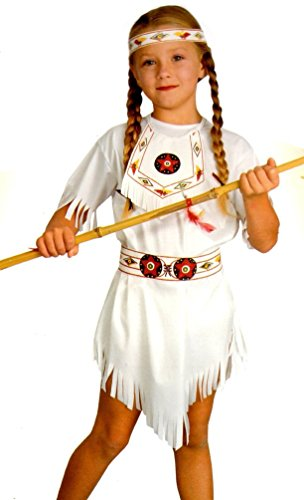 Native American Indian Princess Child Costume Large (8-10 Yrs)