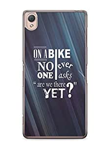 YuBingo Are we there yet? Mobile Case Back Cover for Sony Xperia Z3