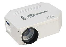UC30 High Quality LED Portable Projector with USB/MicroUSB/AV/SD/VGA/HDMI Inputs