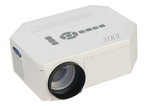 UC30 High Quality LED Portable Projector with USB/MicroUSB/AV/SD/VGA/HDMI Inputs