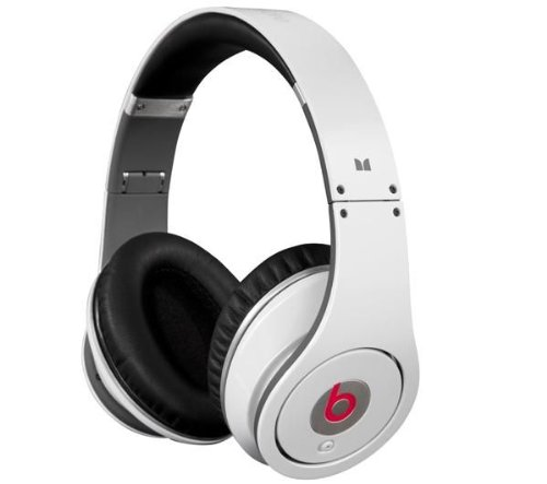 Beats by Dr Dre Studio High-Definition Powered Isolation Headphones  - White