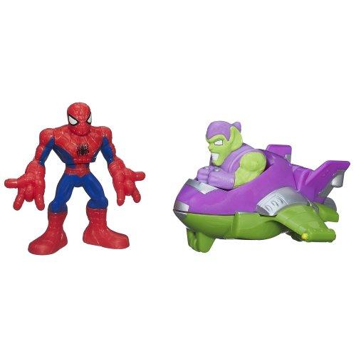 Playskool Heroes Super Hero Adventures Mini Masters Spiderman front-831827