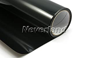 "Neverland Auto Car Tint Vinyl Film Smoked Fog Light Headlight Taillight 12"" x 48"" Black from Neverland-motor"