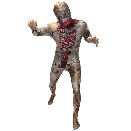 Morphsuits Monster Facelift, Multi, Medium Skinsuit