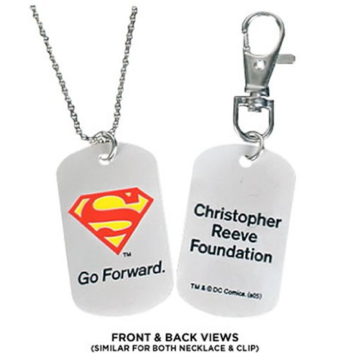 : Christopher Reeve Foundation Superman Dog Tags