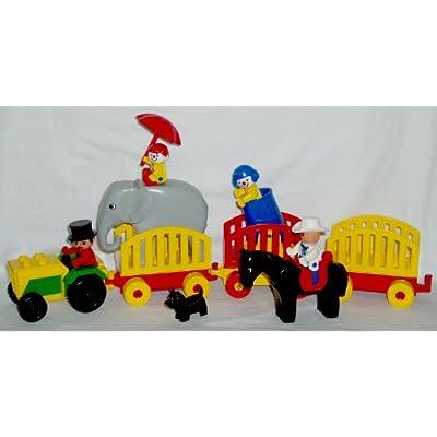 Amazon.com : LEGO DUPLO - Vintage Set #2652 - CIRCUS CARAVAN - 1988