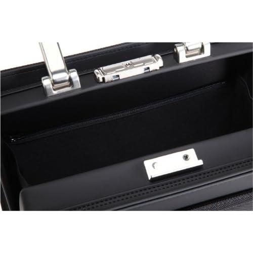[アイエスプラス] is・+ IS+ アルミ手ハンドル26cmダレスバッグ 日本製 230-3100 1 (ブラック)
