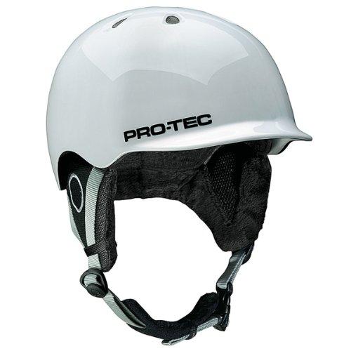 Pro-Tec Erwachsene Helm Riot, Gloss White, 51-54 cm, 143530232