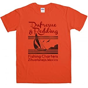 Dufresne and Redding Fishing Charters t shirt from 8Ball Tees