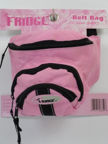 LIFOAM Belt Bag - 1 Piece - The Fridge - Breast Cancer Ribbon - Pink