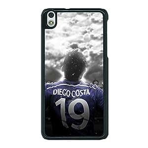 Jugaaduu Chelsea Diego Costa Back Cover Case For HTC Desire 816 Dual Sim