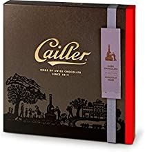 Cailler Pralinensortiment 25 Stück aus Zartbitterschokolade, Große Auswahl, 1er Pack (1 x 223 g)