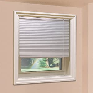 Honeycomb cellular shade 7012484 24 1 2 inch for 2 inch window blinds