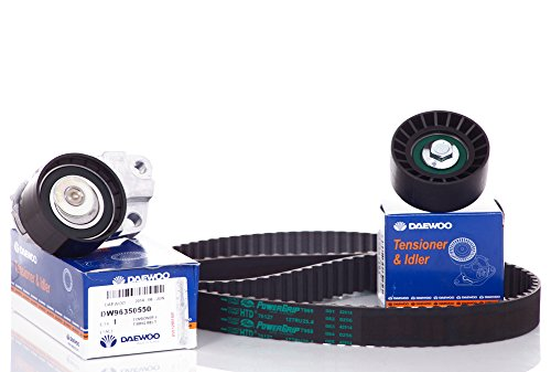 timing-belt-kit-for-chevy-chevorlet-aveo-16-belt-by-gates-tensioner-by-daewoo-pulley-by-daewoopart95